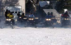 Yamaha Snowmobile Rentals In New York